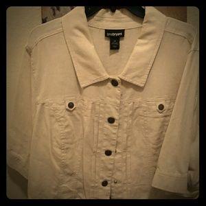 Lane Bryant size 26 mini jacket
